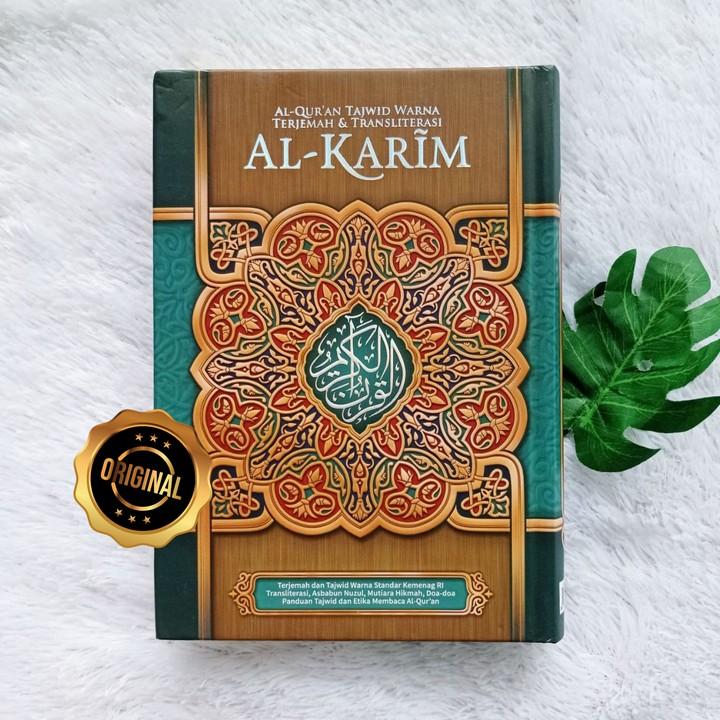 Al-Qur'an Tajwid Warna Terjemah Transliterasi Al-Karim A5
