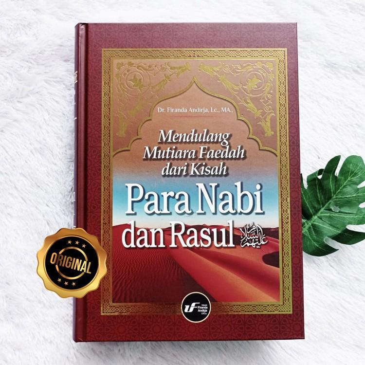 Buku Mendulang Mutiara Faedah Dari Kisah Para Nabi Dan Rasul
