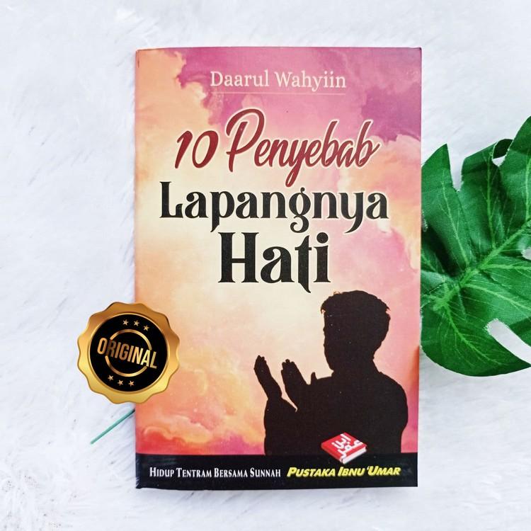 Buku Saku 10 Penyebab Lapangnya Hati Agar Lepas Dari Tipu Daya Syaitan