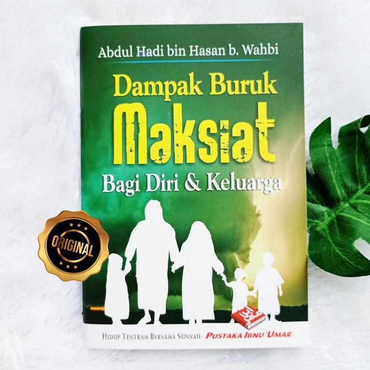 Buku Saku Dampak Buruk Maksiat Bagi Diri Dan Keluarga