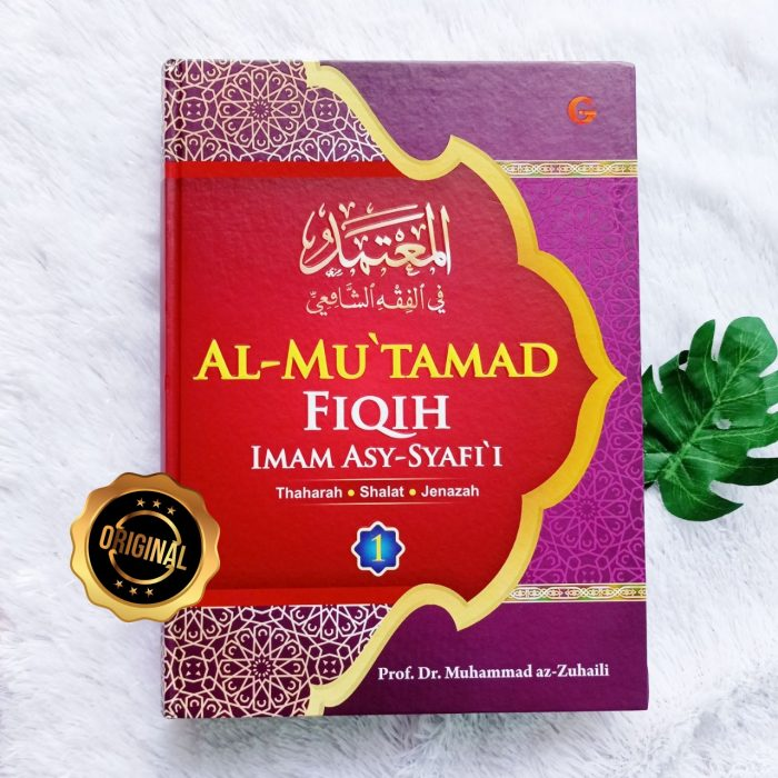 Buku Al Mu'tamad Fiqih Imam Asy-Syafii 1 Set 3 Jilid