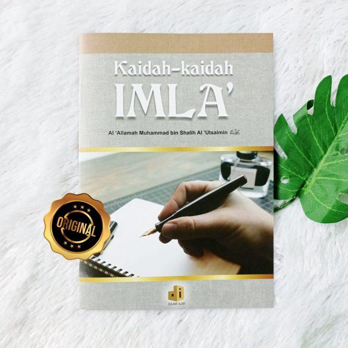 Buku Kaidah-Kaidah Imla' Syaikh Utsaimin