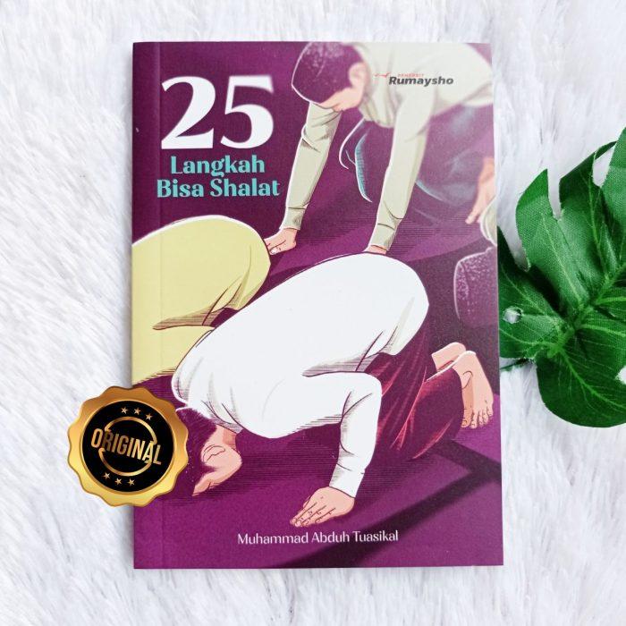 Buku Saku 25 Langkah Bisa Shalat