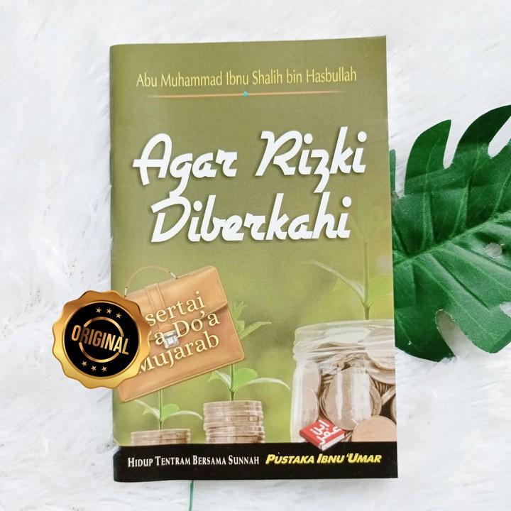 Buku Saku Agar Rizki Diberkahi Disertai Doa-Doa Mujarab