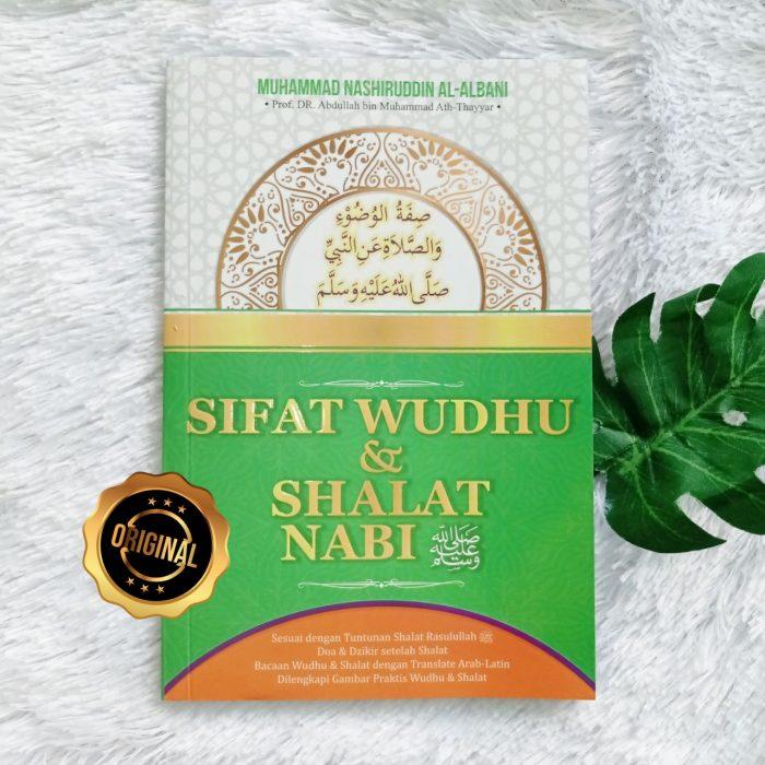 Buku Sifat Wudhu Dan Shalat Nabi Plus Gambar Praktik