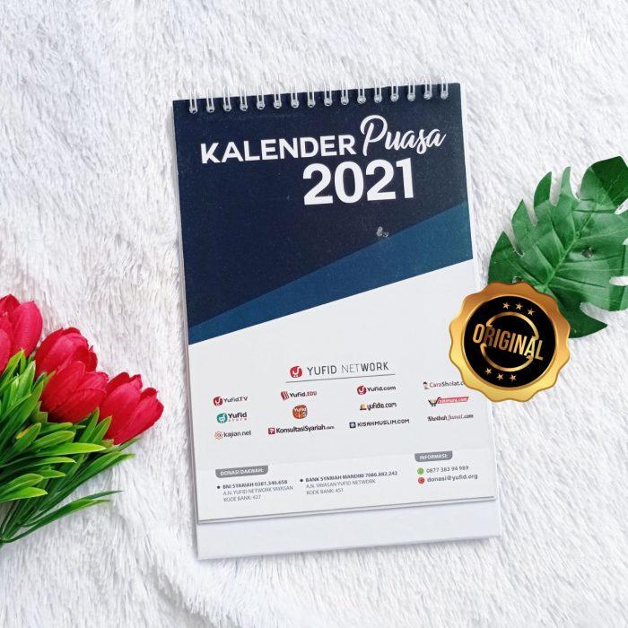 Kalender Meja Edisi Puasa Yufid 2021