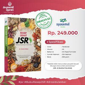 Buku Resep Sehat JSR 200 Resep Sehat Menyehatkan dr Zaidul Akbar