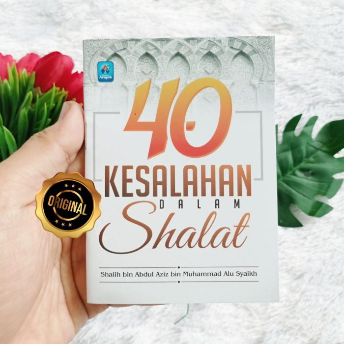 Buku Saku 40 Kesalahan Dalam Shalat