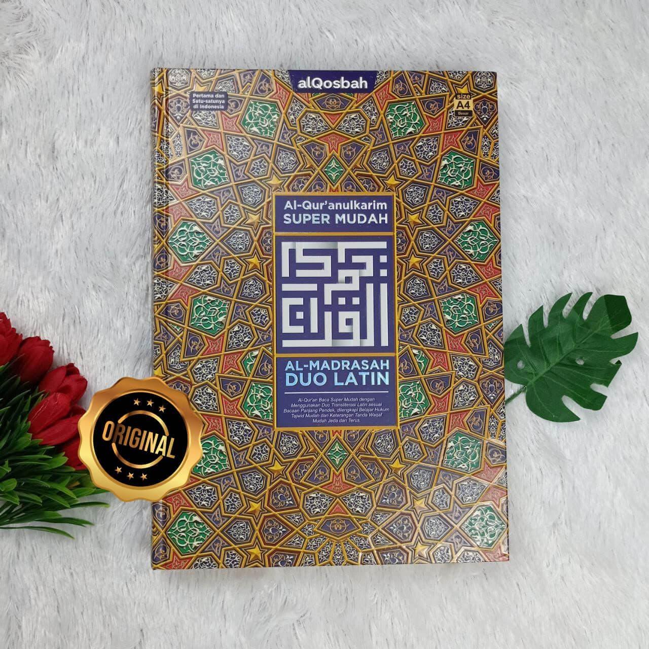 Al-Qur'an Super Mudah Al-Madrasah Duo Latin Ukuran A4