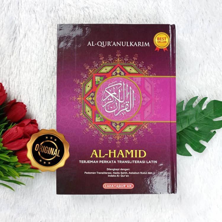 Al-Qur'an Al-Hamid Terjemah Perkata Transliterasi Latin Ukuran A5