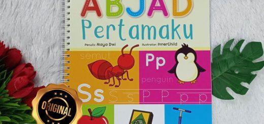 Buku Anak Hapus Tulis Abjad Pertamaku Perkenalan Anak Usia Dini Cover