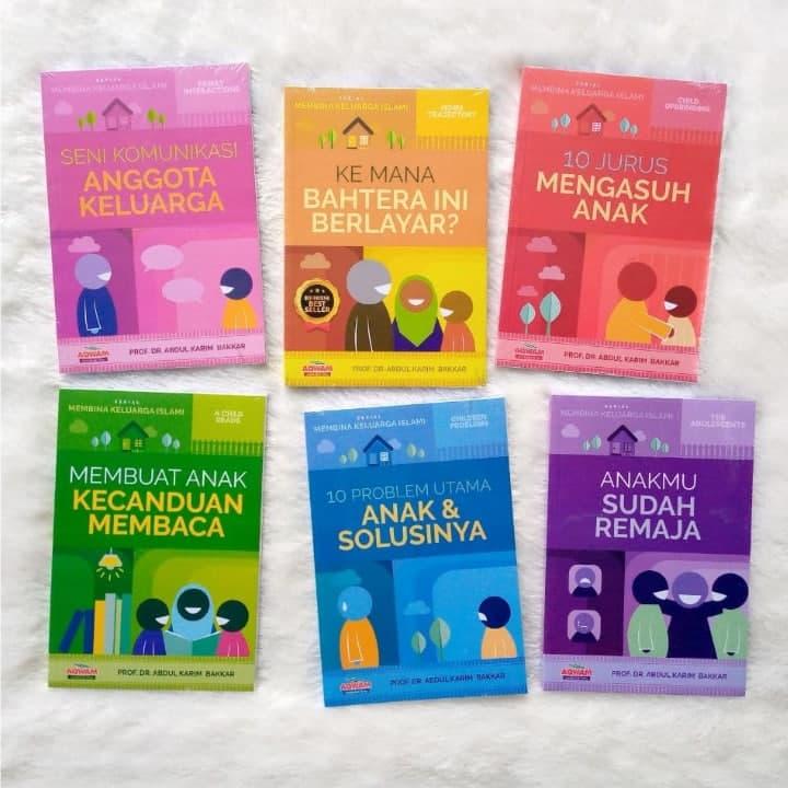 Buku Serial Membina Keluarga Islami 1 Set 6 Jilid 2