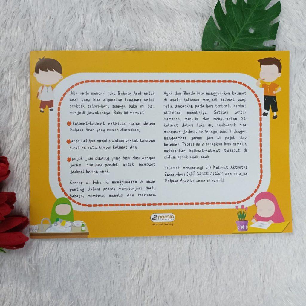 Buku Anak 20 Kalimat Aktivitas Sehari-Hari