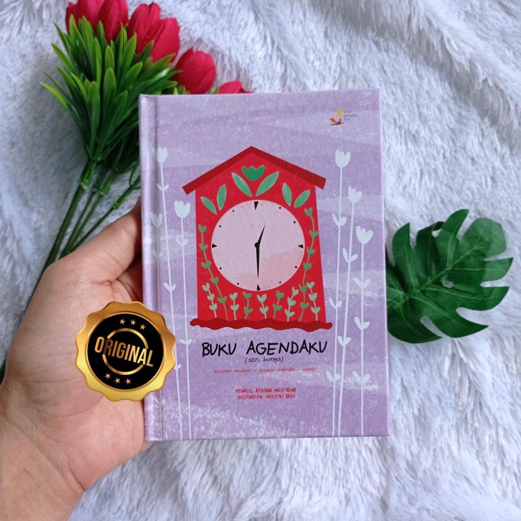 Buku Anak Agendaku Edisi Bunga