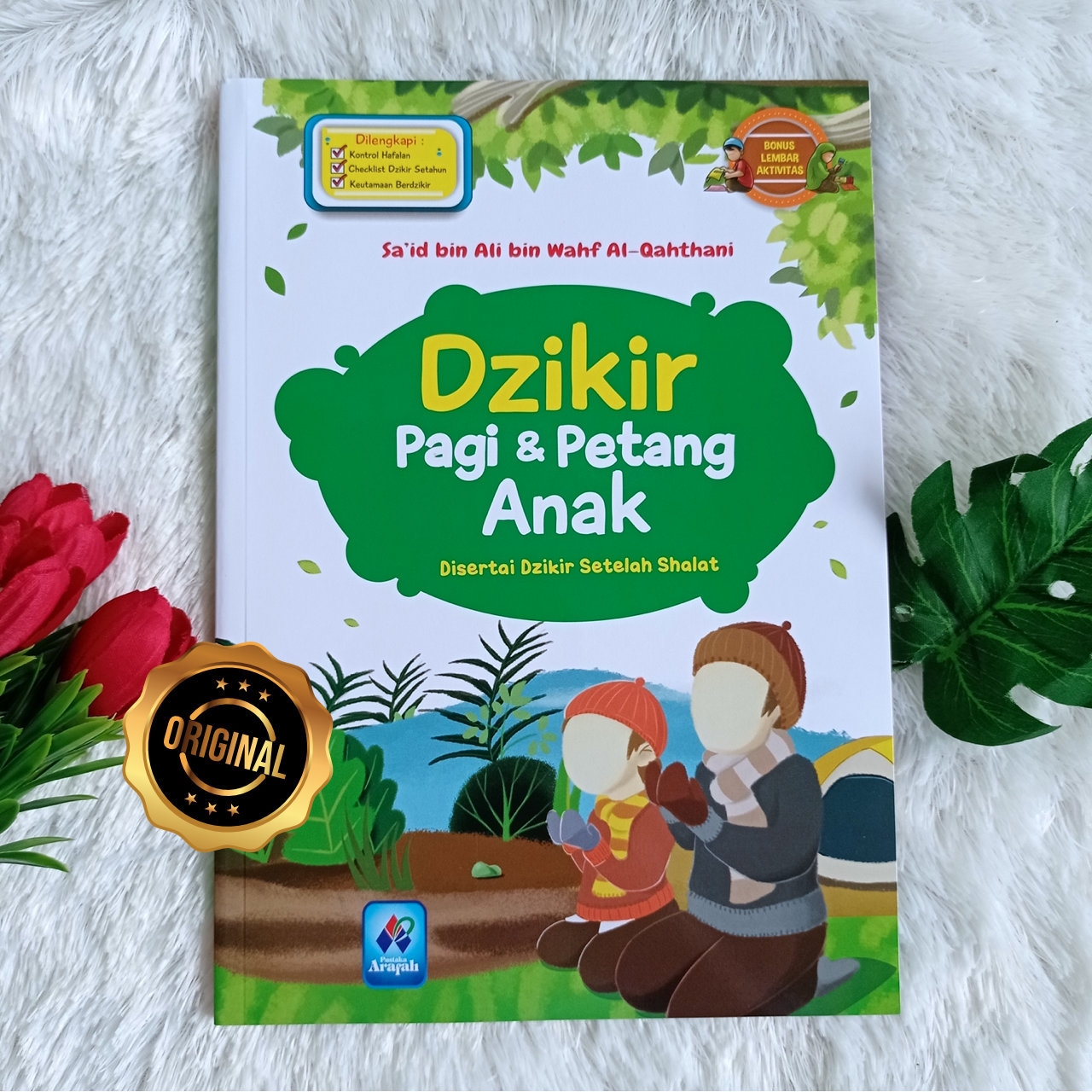 Buku Anak Dzikir Pagi Dan Petang Disertai Dzikir Setelah Shalat