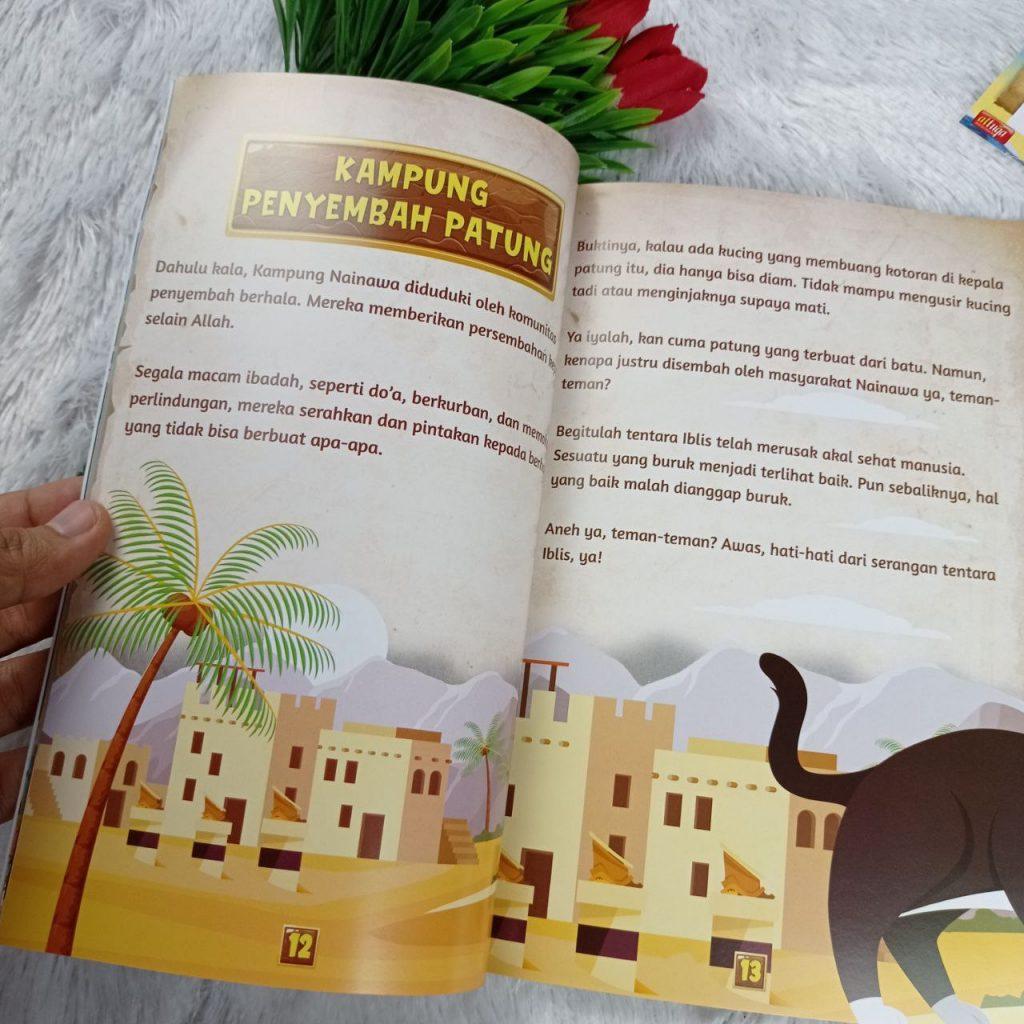 Buku Anak Kisah Nabi Yunus Dan Ikan Paus