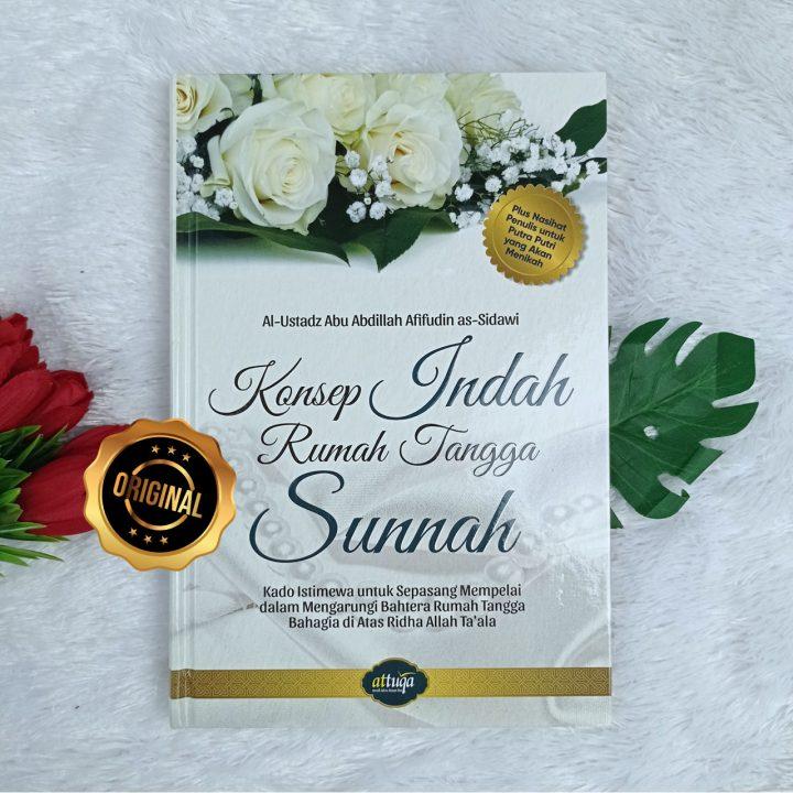 Buku Konsep Indah Rumah Tangga Sunnah Kado Sepasang Mempelai