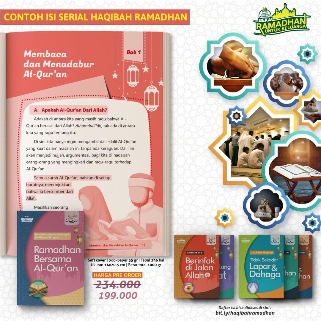 Buku Paket Bekal Ramadhan Untuk Keluarga Set 6 Jilid 1