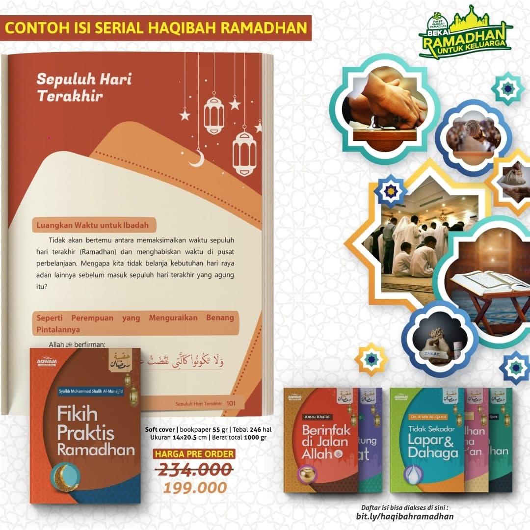 Buku Paket Bekal Ramadhan Untuk Keluarga Set 6 Jilid 2