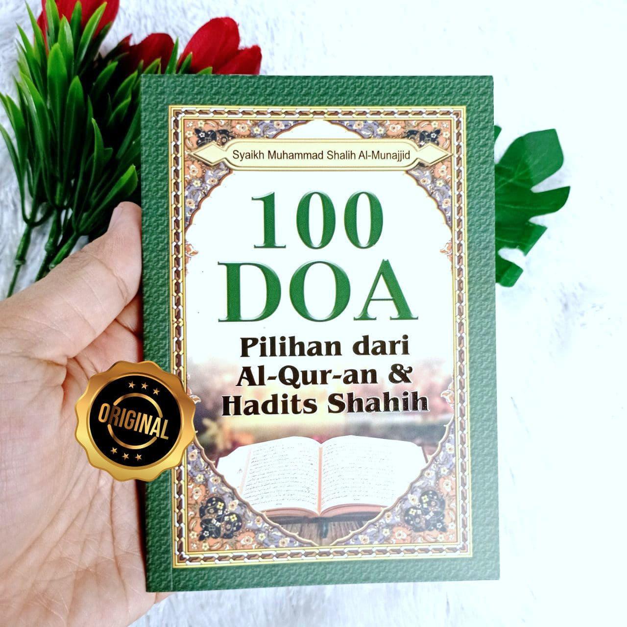 Buku 100 Doa Pilihan Dari Al-Quran Dan Hadits Shahih