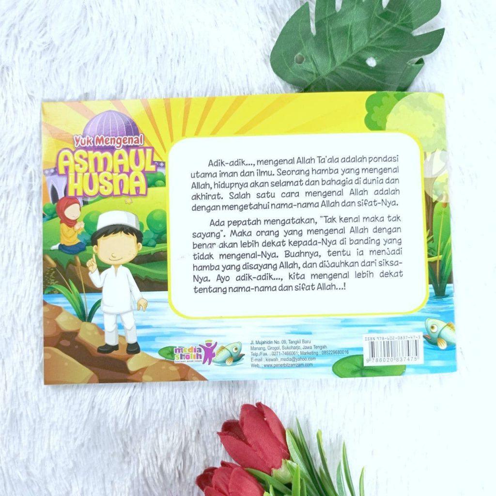 Buku Anak Yuk Mengenal Asmaul Husna