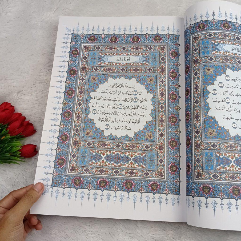 Al-Qur'an Mushaf Al-Madinah Ukuran B4