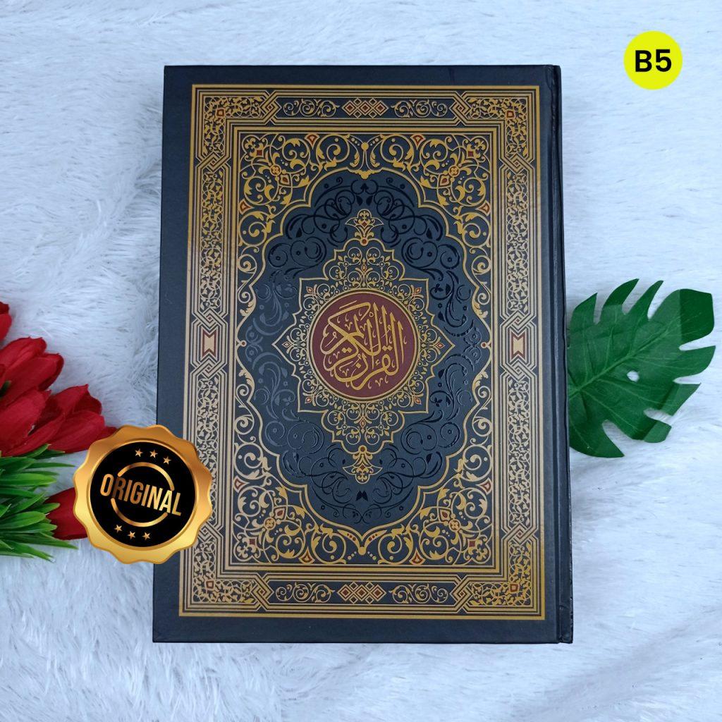 Al-Qur'an Mushaf Al-Madinah Wakaf Tanpa Terjemah Ukuran B5