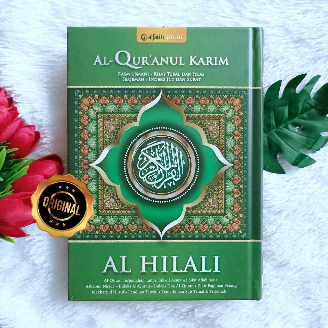 Al-Qur'an Tajwid Terjemah Al Hilali Ukuran A5