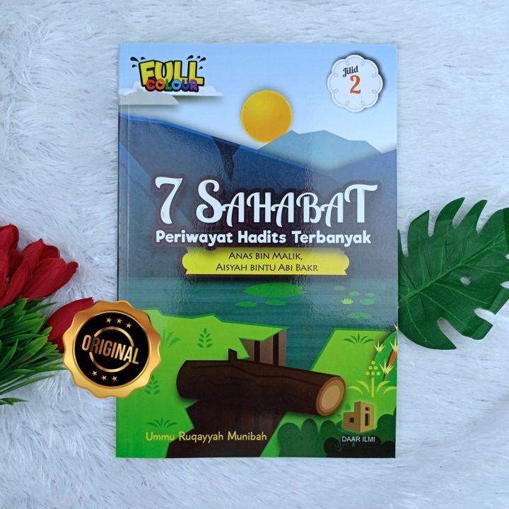 Buku 7 Sahabat Periwayat Hadits Terbanyak Jilid 2