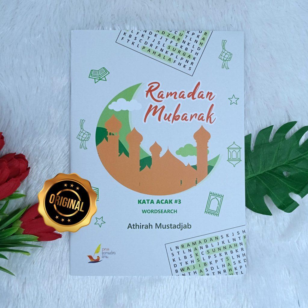 Buku Anak Kata Acak Ramadan Mubarak Word Search Seri 3