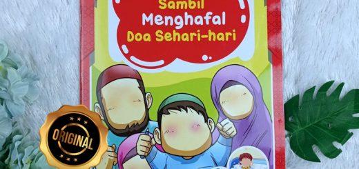Buku Anak Menulis Sambil Menghafal Doa Sehari-Hari