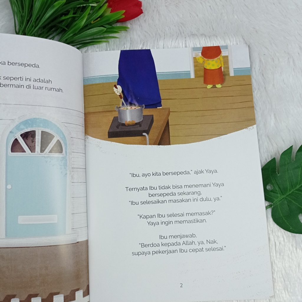 Buku Anak Menunggu Dengan Sabar