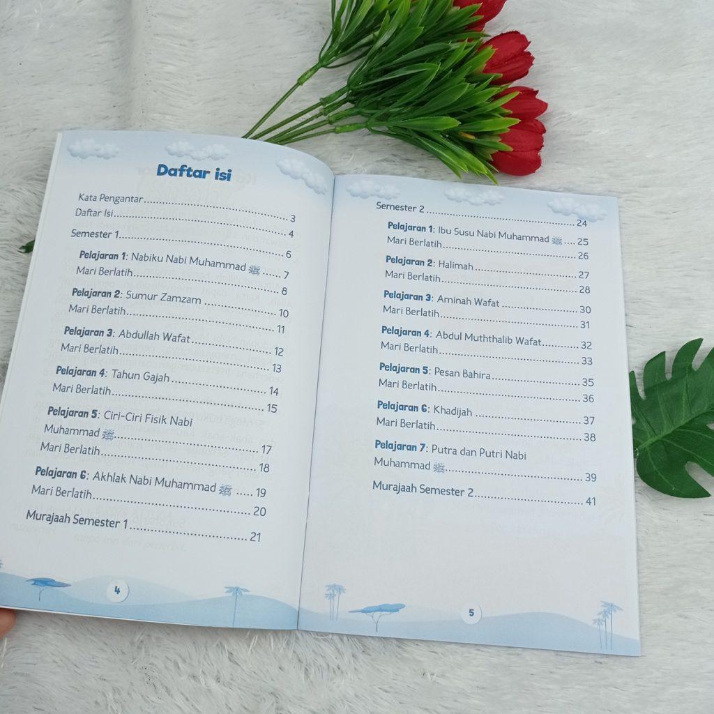 Buku Anak Pelajaran Sirah Nabawiyah Untuk Madrasah Ibtidaiyah 1 Set 3 Jilid