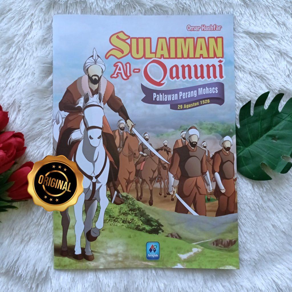 Buku Anak Sulaiman Al-Qanuni Pahlawan Perang Mohacs