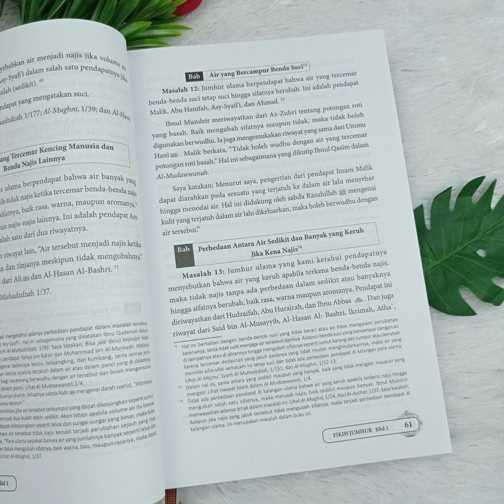 Buku Fikih Jumhur Masalah Yang Disepakati Mayoritas Ulama  1 Set