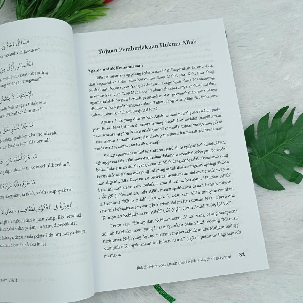 Buku Pintar Hukum Islam Mudah Memahami Ushul Fikih Dan Fikih 1 Set