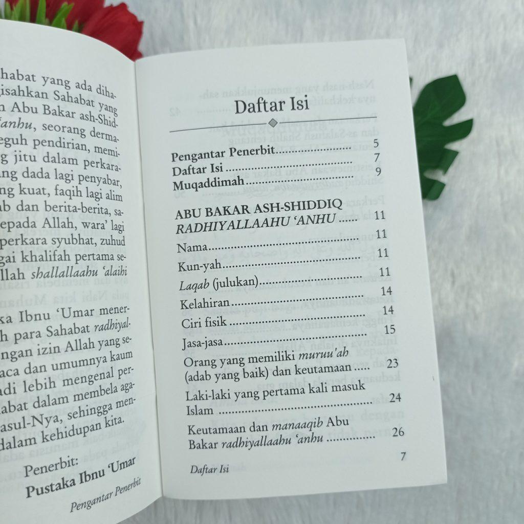 Buku Saku Abu Bakar Ash-Shiddiq Keimanan Terbaik