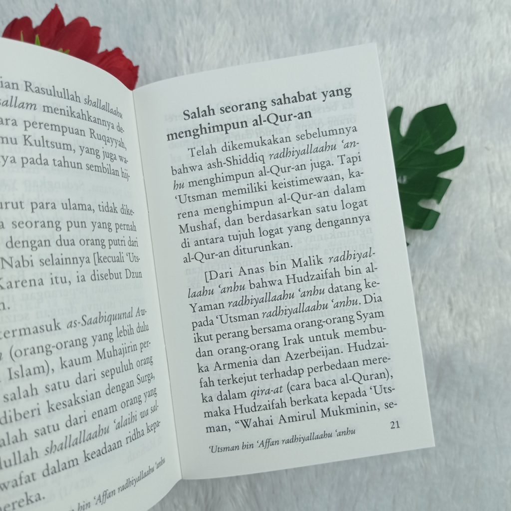 Buku Saku Usman Bin Affan Dzun Nuurain Takwa, Dermawan, Pemalu