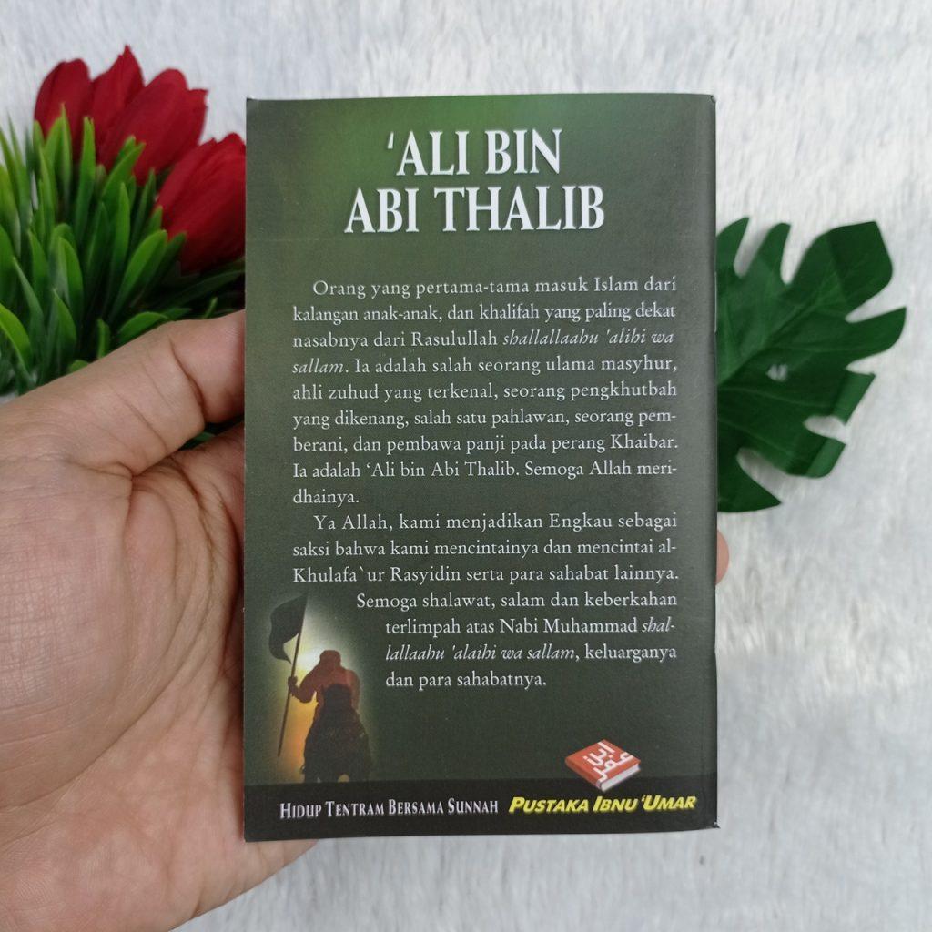 Buku Saku Ali Bin Abi Thalib Zuhud Pembawa Panji