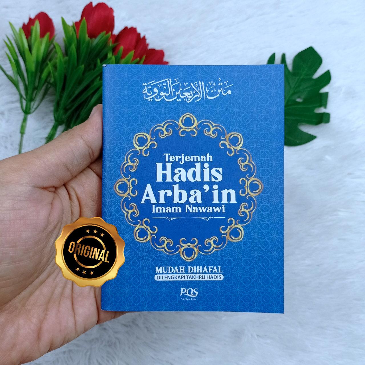 Buku Saku Terjemah Hadis Arba'in Imam Nawawi Mudah Dihafal