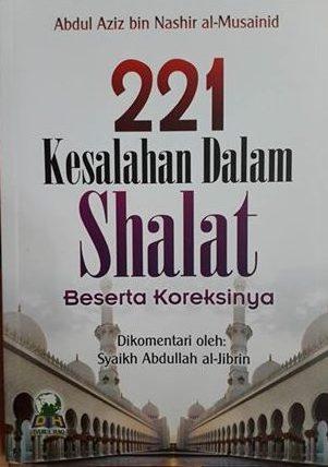 221 kesalahan dalam shalat buku cover