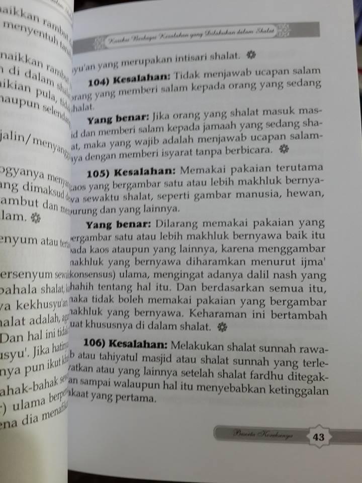 221 kesalahan dalam shalat buku isi