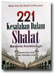 221 kesalahan dalam shalat buku