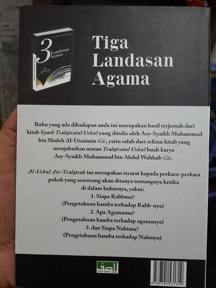 3 syarah landasan agama buku cover 2