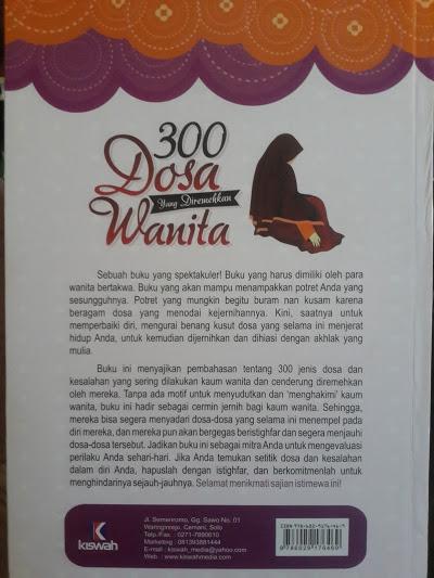 Buku 300 Dosa Yang Diremehkan Wanita Cover 2