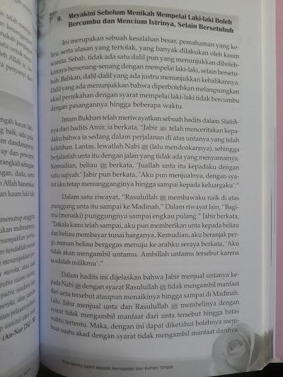 Buku 300 Dosa Yang Diremehkan Wanita Isi