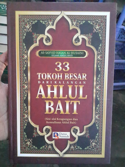 Buku 33 Tokoh Besar Dari Kalangan Ahlul Bait Cover