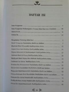 Buku 33 Tokoh Besar Dari Kalangan Ahlul Bait Daftar Isi