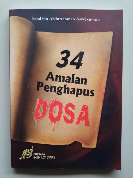 Buku 34 Amalan Penghapus Dosa Cover