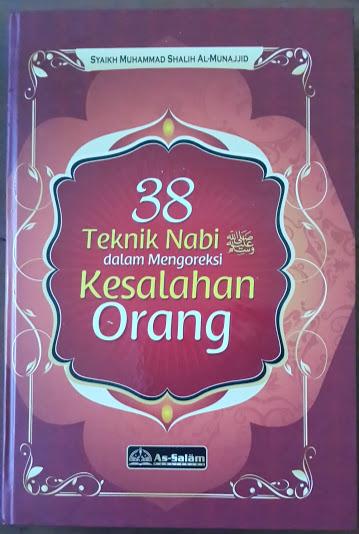 Buku 38 Teknik Nabi Dalam Mengoreksi Kesalahan Orang Cover